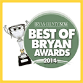 Best of Bryan Awards 2014 badge for Bryan County Now